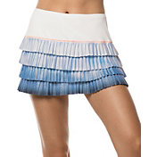 Lucky In Love Women's Celestial Geo Pleated Tennis Skort