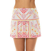 Lucky In Love Women's Good Vibes Pocket Tennis Skort