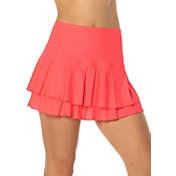 Lucky In Love Women's Long Tier Tennis Skort