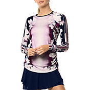 Lucky in Love Women's Lush Daze Long Sleeve Tennis T-Shirt