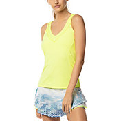 Lucky In Love Women's Entwine Racerback Bra Tennis Tank Top