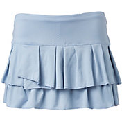 Lucky In Love Women's Pleated Tier Tennis Skort