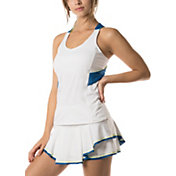 Lucky in Love Women's Axis Twist Back Tennis Tank