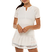 Lucky In Love Women's Viper Tie Back Tennis Shirt