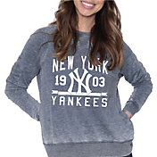 Soft As A Grape Women's New York Yankees Navy Pullover Fleece