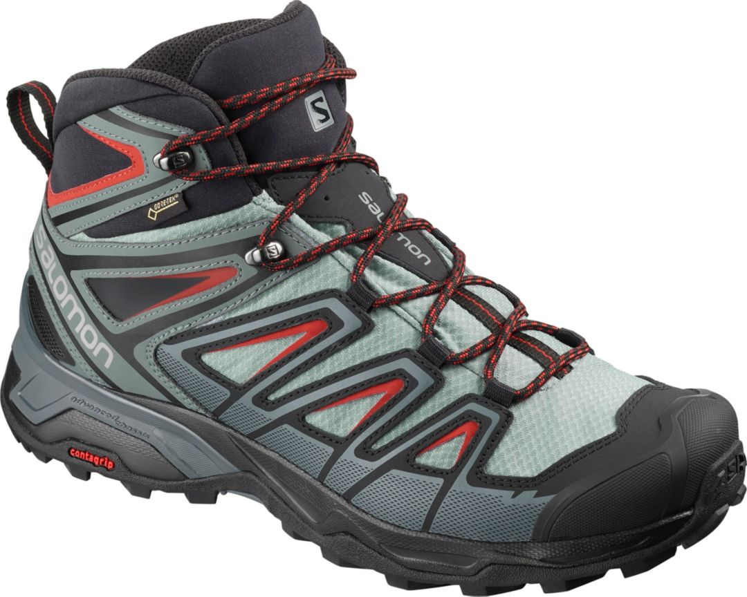 info for 00c13 d908c Salomon Men's X Ultra 3 Mid GTX Waterproof Hiking Boots