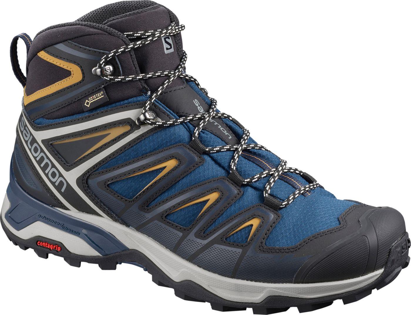 Salomon Men's X Ultra 3 Mid GTX Waterproof Hiking Boots