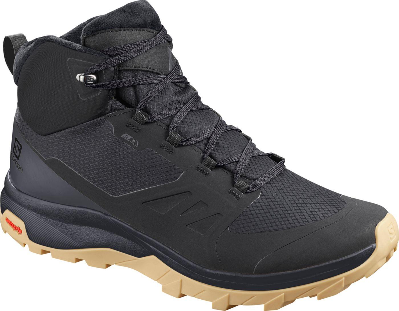 Salomon Men's OUTSnap Waterproof Hiking Boots
