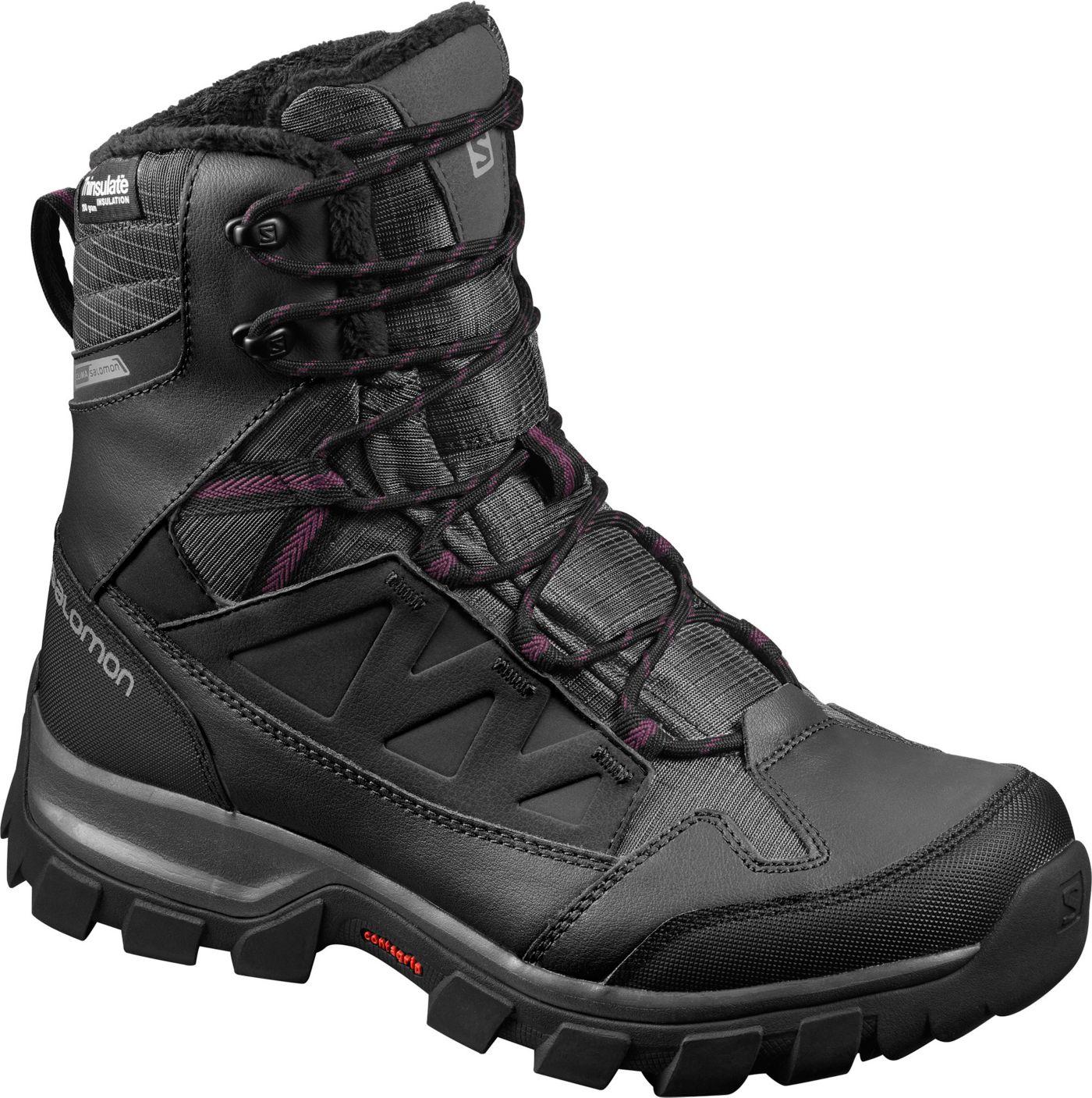Salomon Women's Chalten 200g Waterproof Winter Boots