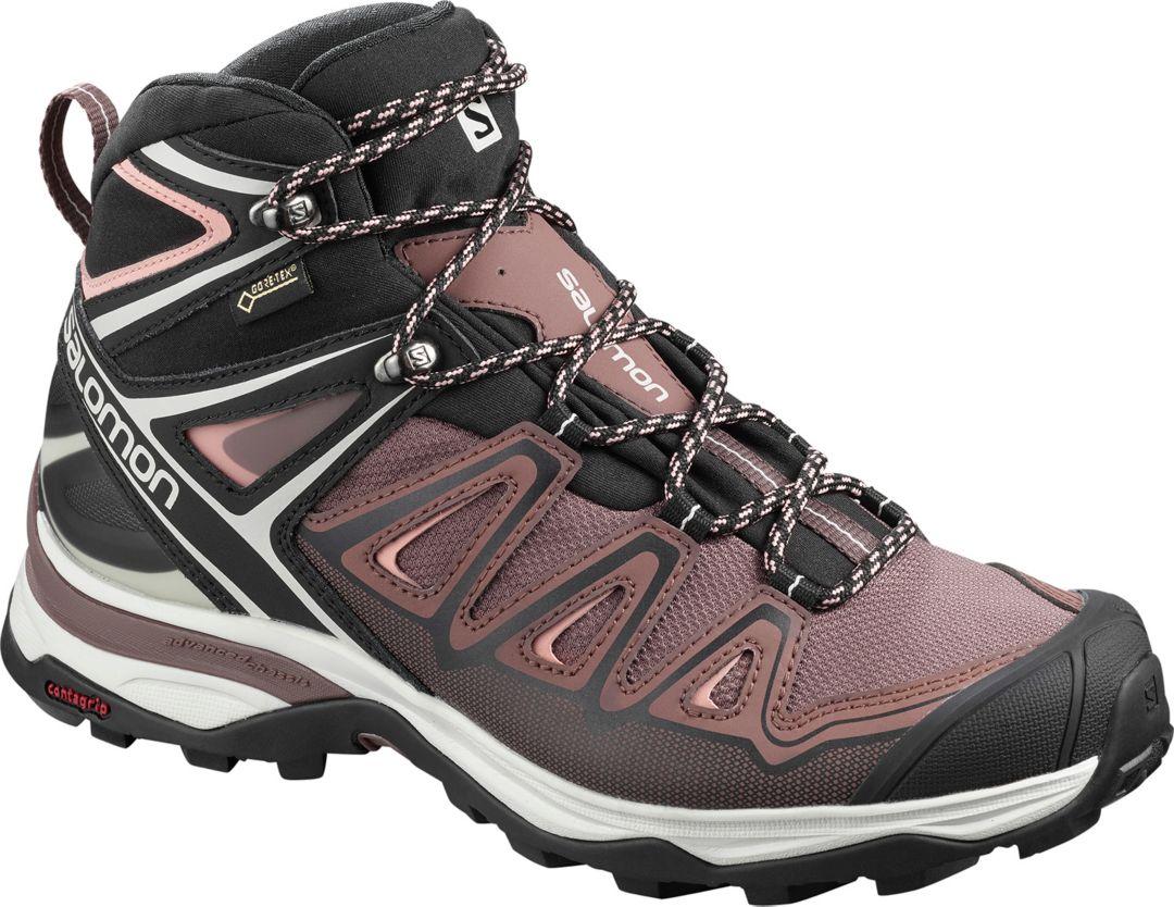 75ff56e9 Salomon Women's X Ultra Mid GTX Waterproof Hiking Boots