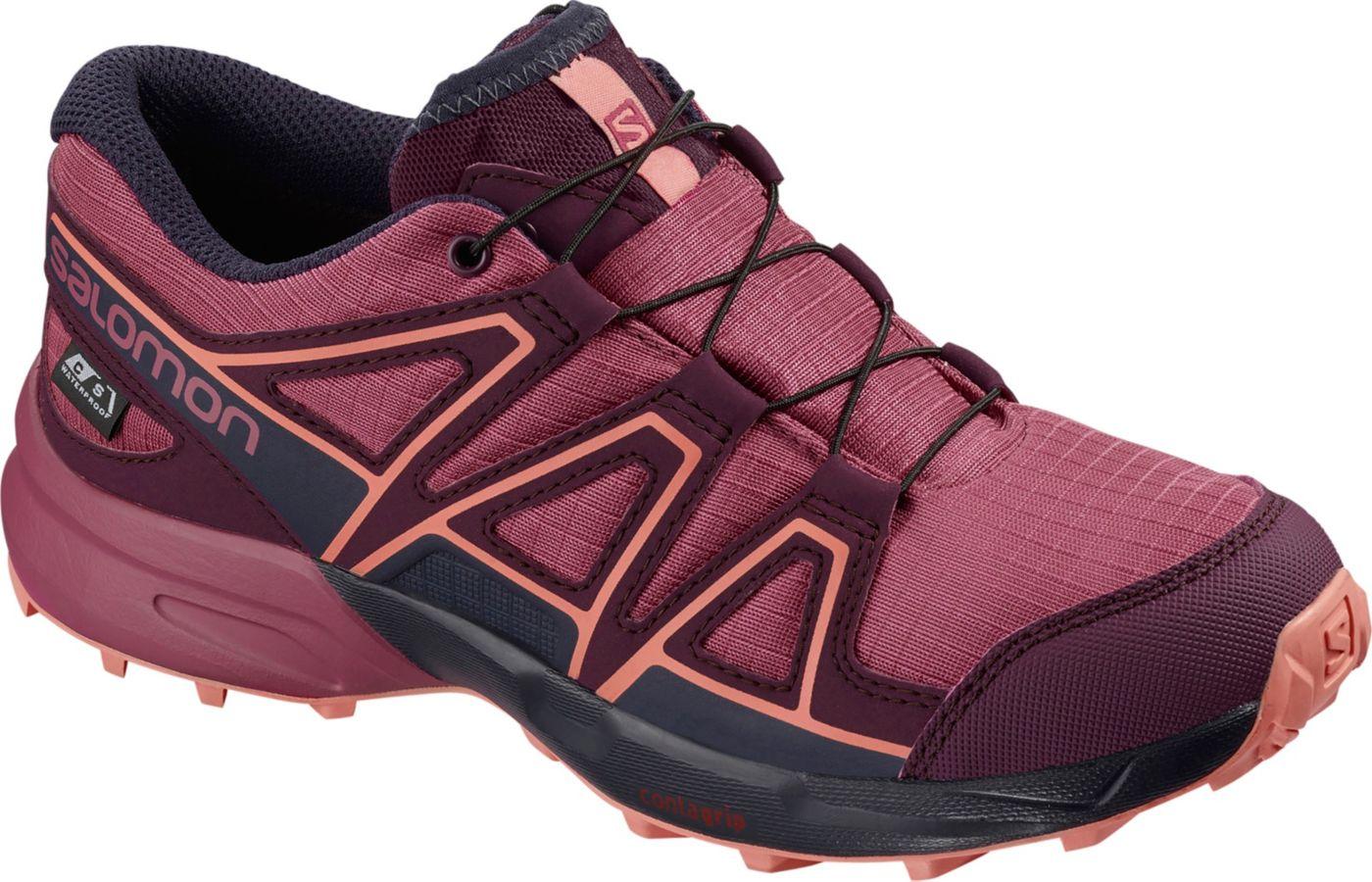 Salomon Kids' Speedcross ClimaSalomon Waterproof Hiking Shoes
