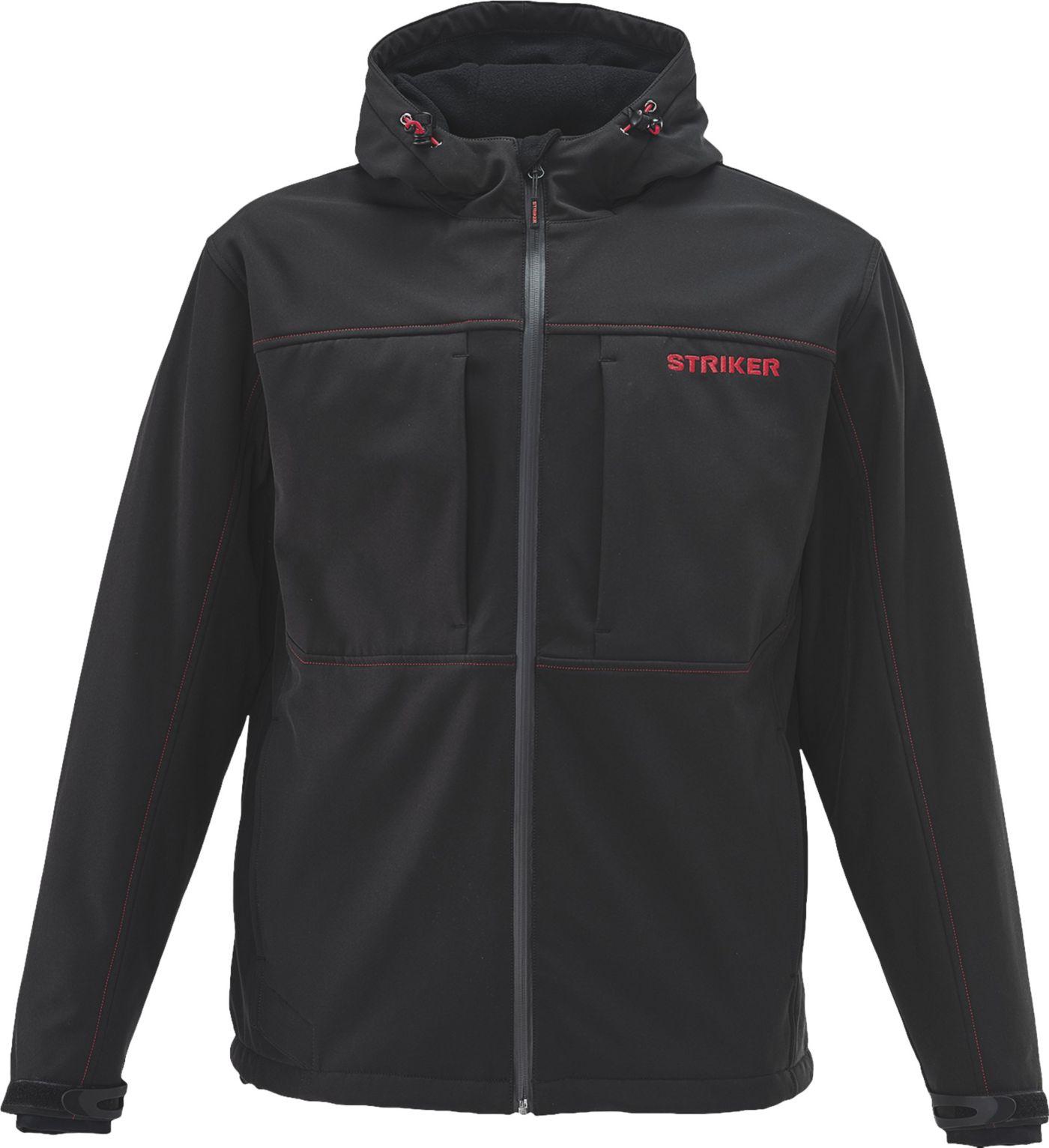 Striker Men's Rival Hooded Softshell Jacket