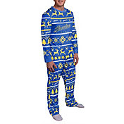 Team Beans Men's Milwaukee Brewers Pajama Set