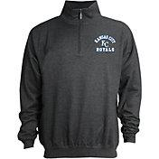 Stitches Men's Kansas City Royals Quarter-Zip Pullover