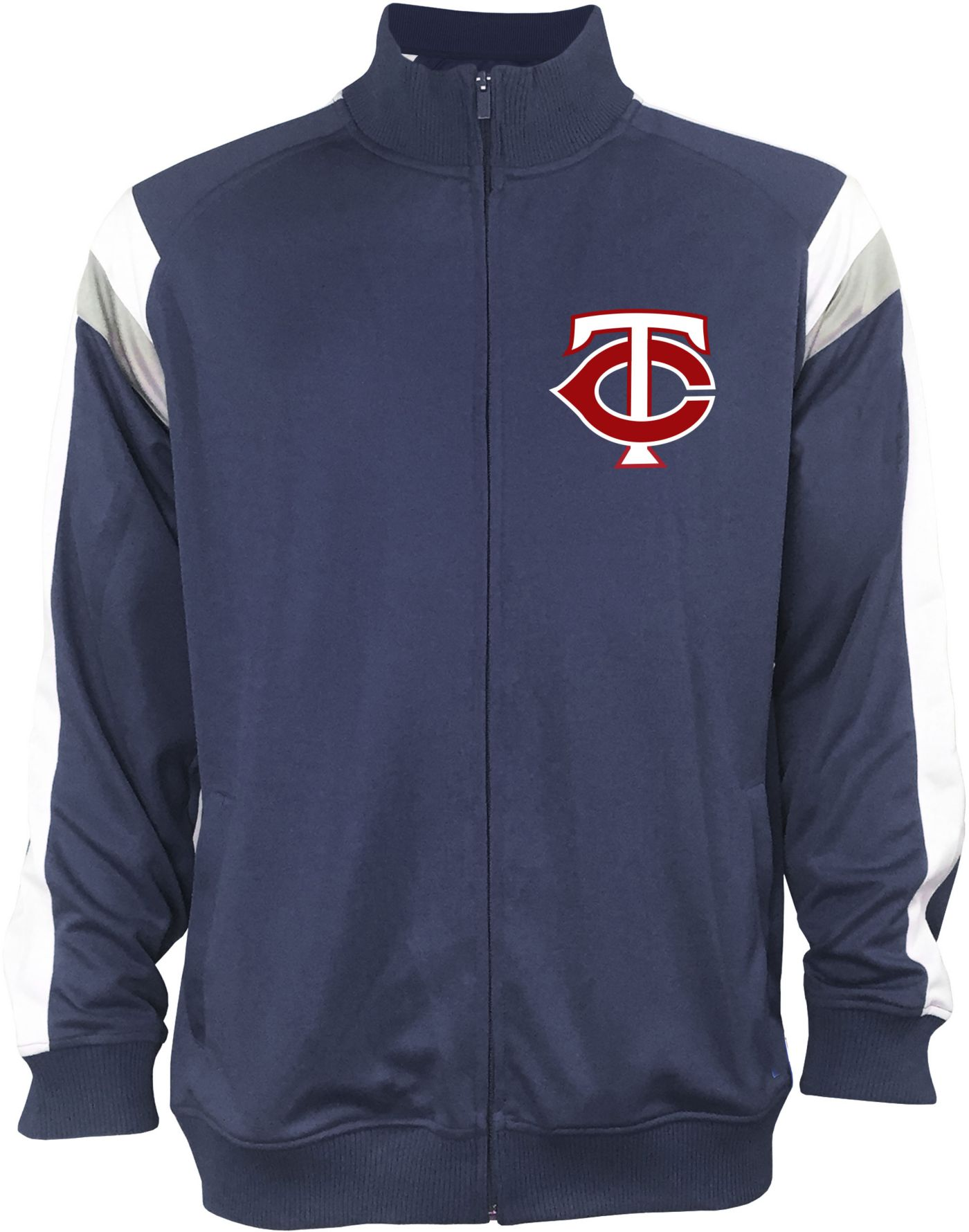 Stitches Men's Minnesota Twins Track Jacket