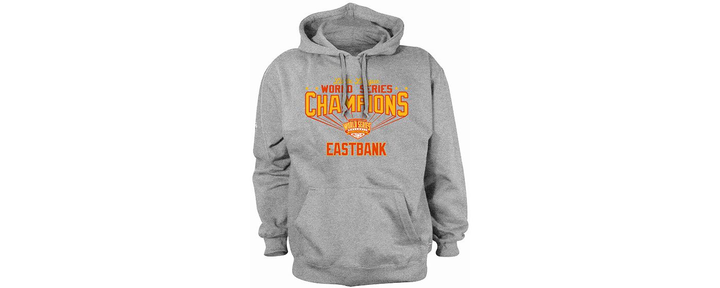 Stitches Youth Eastbank LL 2019 LLWS Champions Hoodie