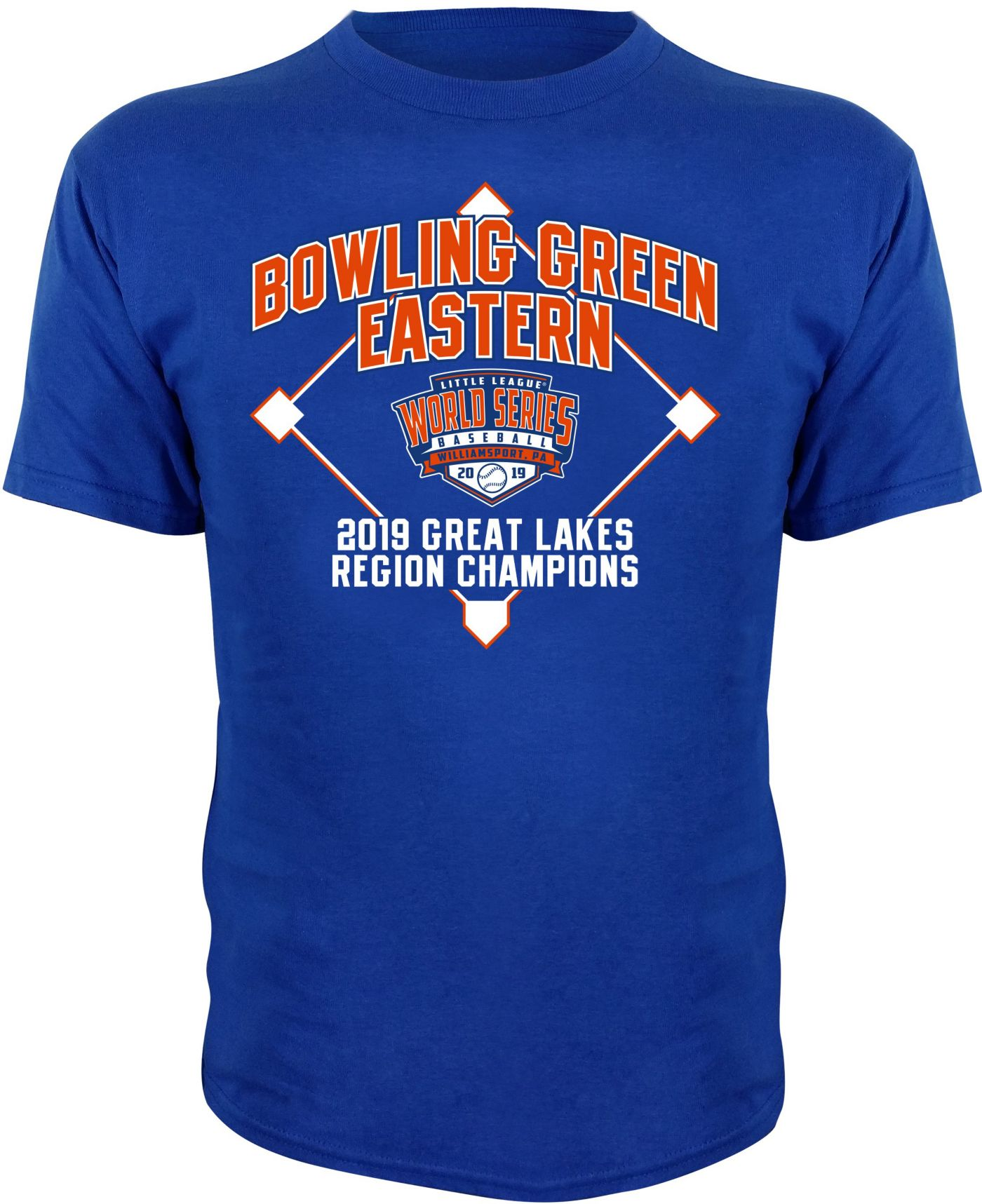 Stitches Youth 2019 LLWS Great Lakes Regional Champions T-Shirt