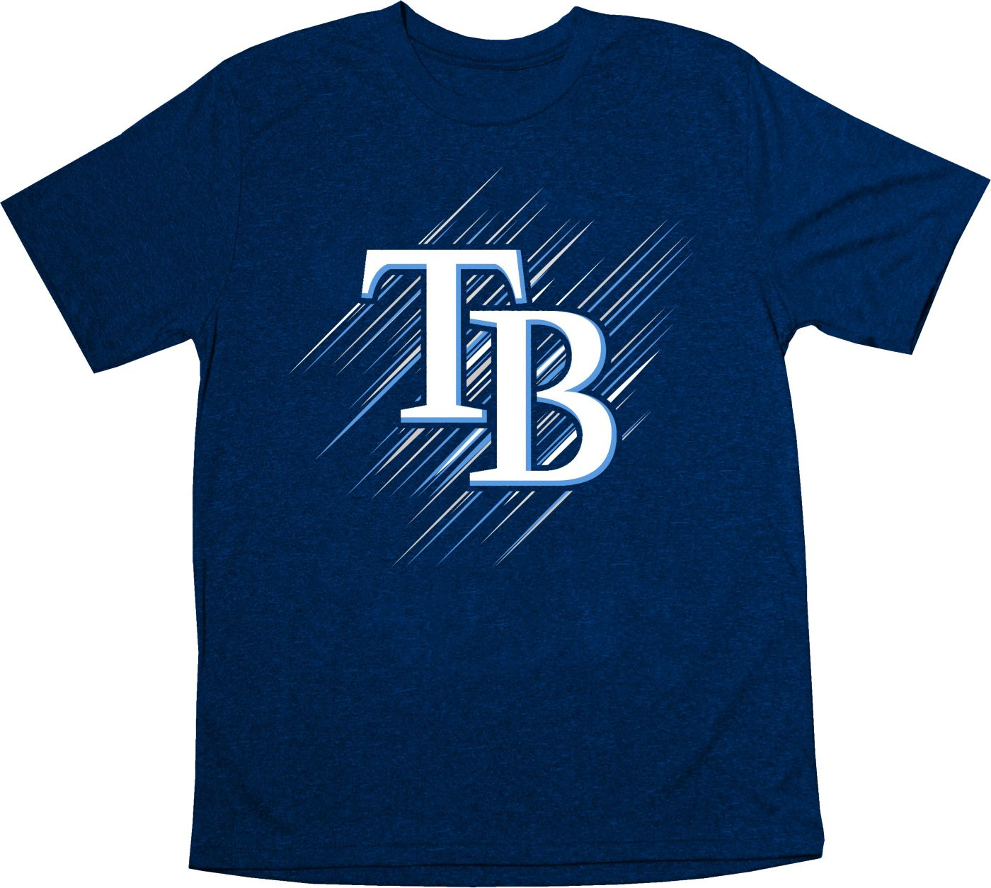 Stitches Youth Tampa Bay Rays Navy T-Shirt