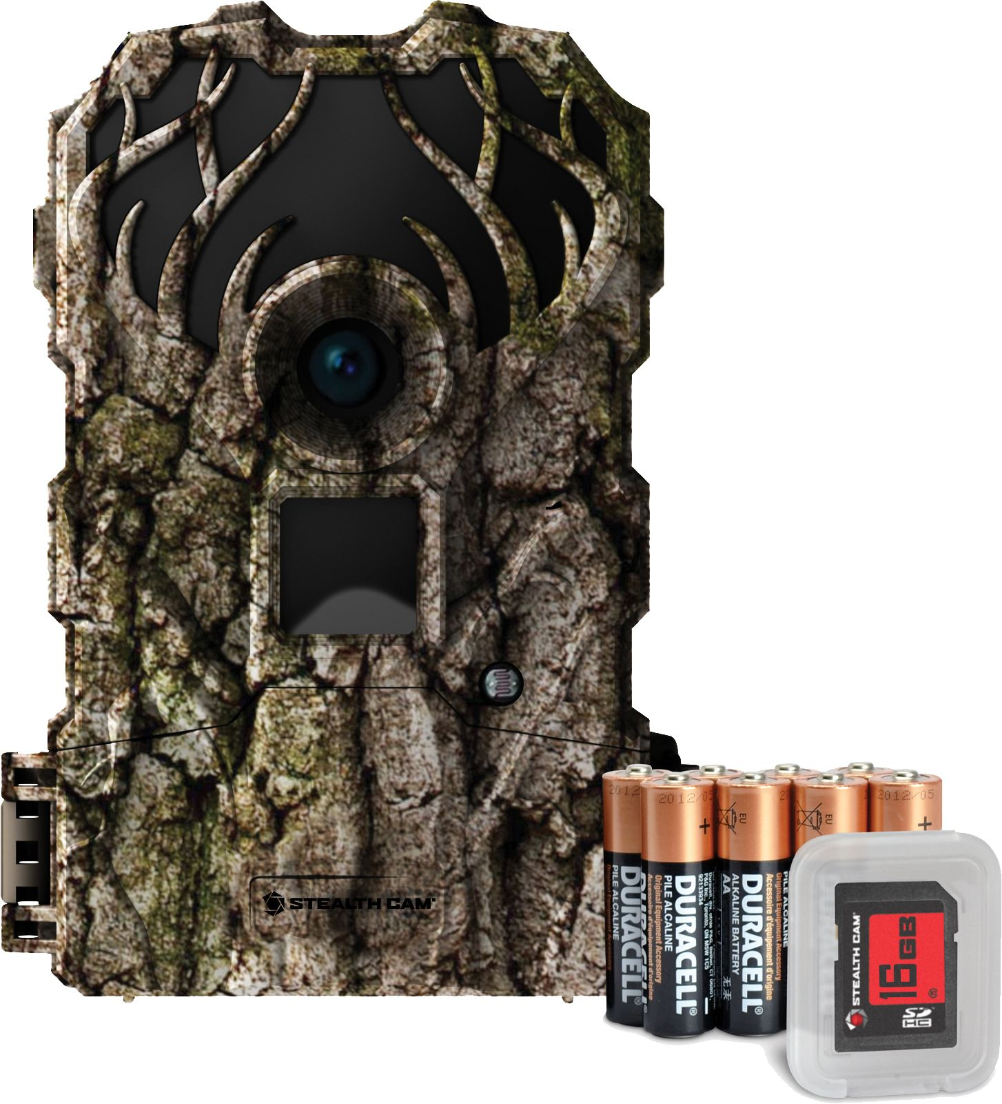 Stealth Cam Doubledrop IR Trail Camera Package – 16MP