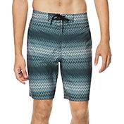 "Speedo Men's Stripe E-Board Latitude 20"" Board Shorts"