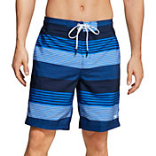"Speedo Men's Stripe E-Board Latitude 20"" Board Shorts"