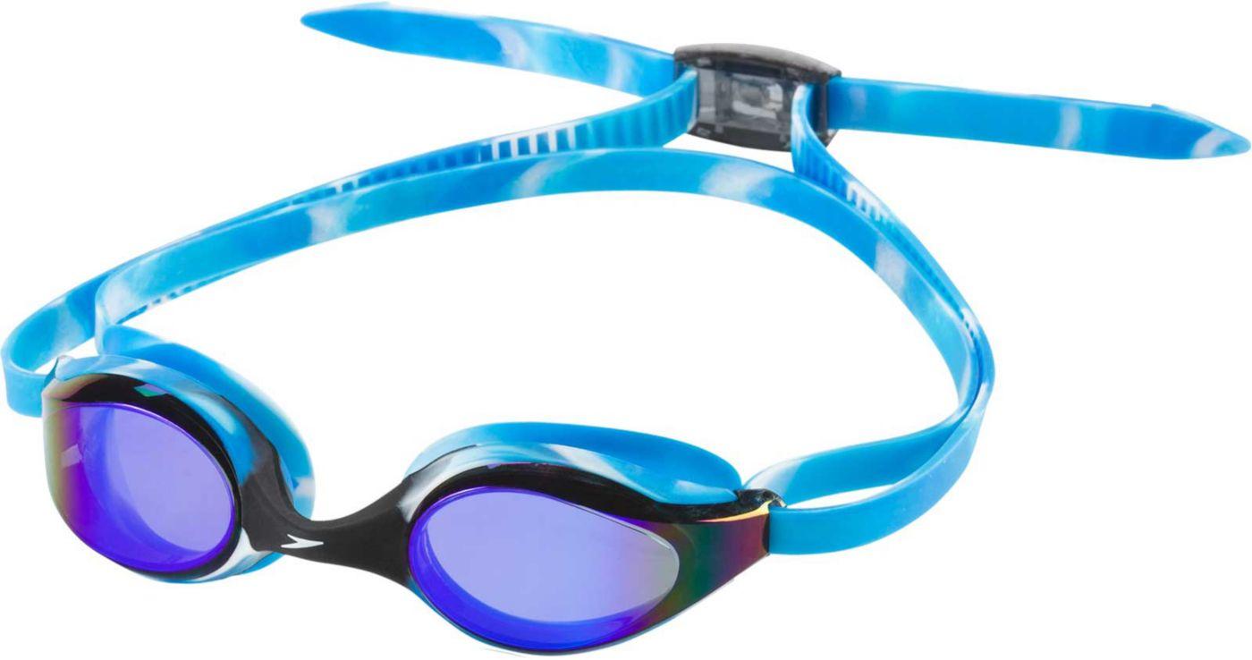 Speedo Youth Hyper Flyer Mirrored Swim Goggles