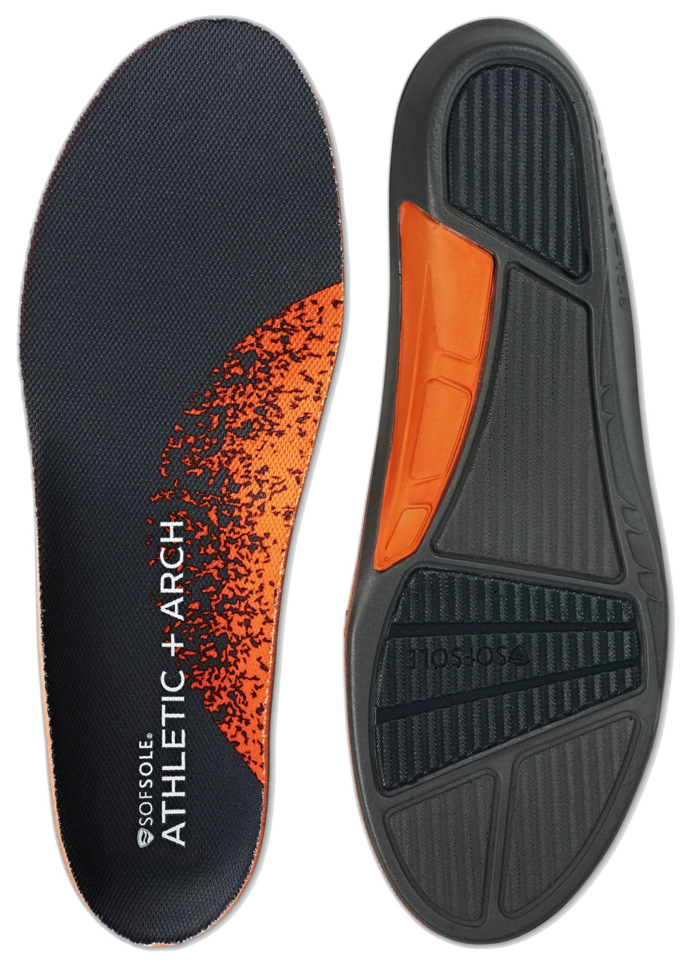 SofSole Men's Athletic Arch Insoles