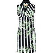 Sport Haley Women's Canissa Sleeveless Print Golf Dress