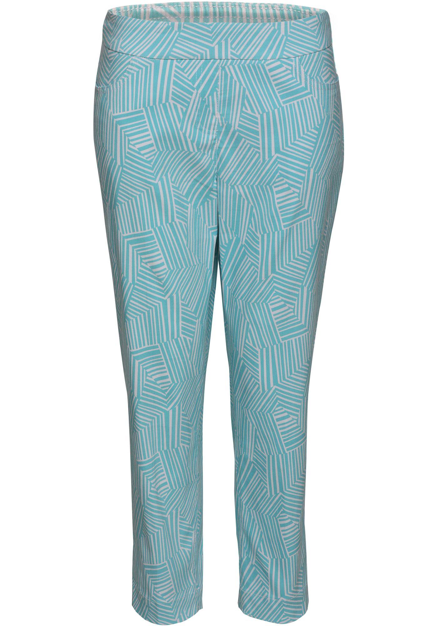 Sport Haley Women's Printed Slim-Sation Cropped Golf Pants