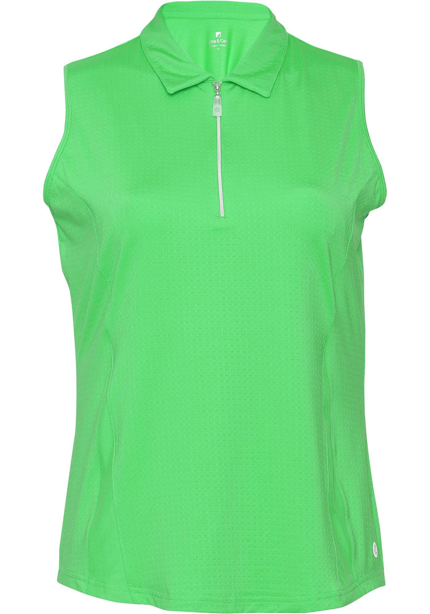 Bette & Court Women's Wander Sleeveless Golf Polo