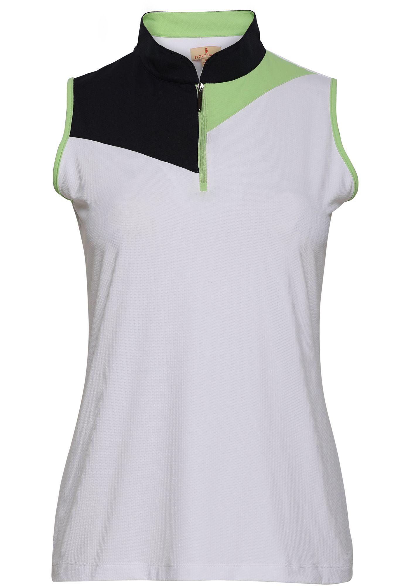 Sport Haley Women's Colorblock Sleeveless Golf Polo