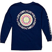 Simply Southern Girls' Mandala Long Sleeve T-Shirt
