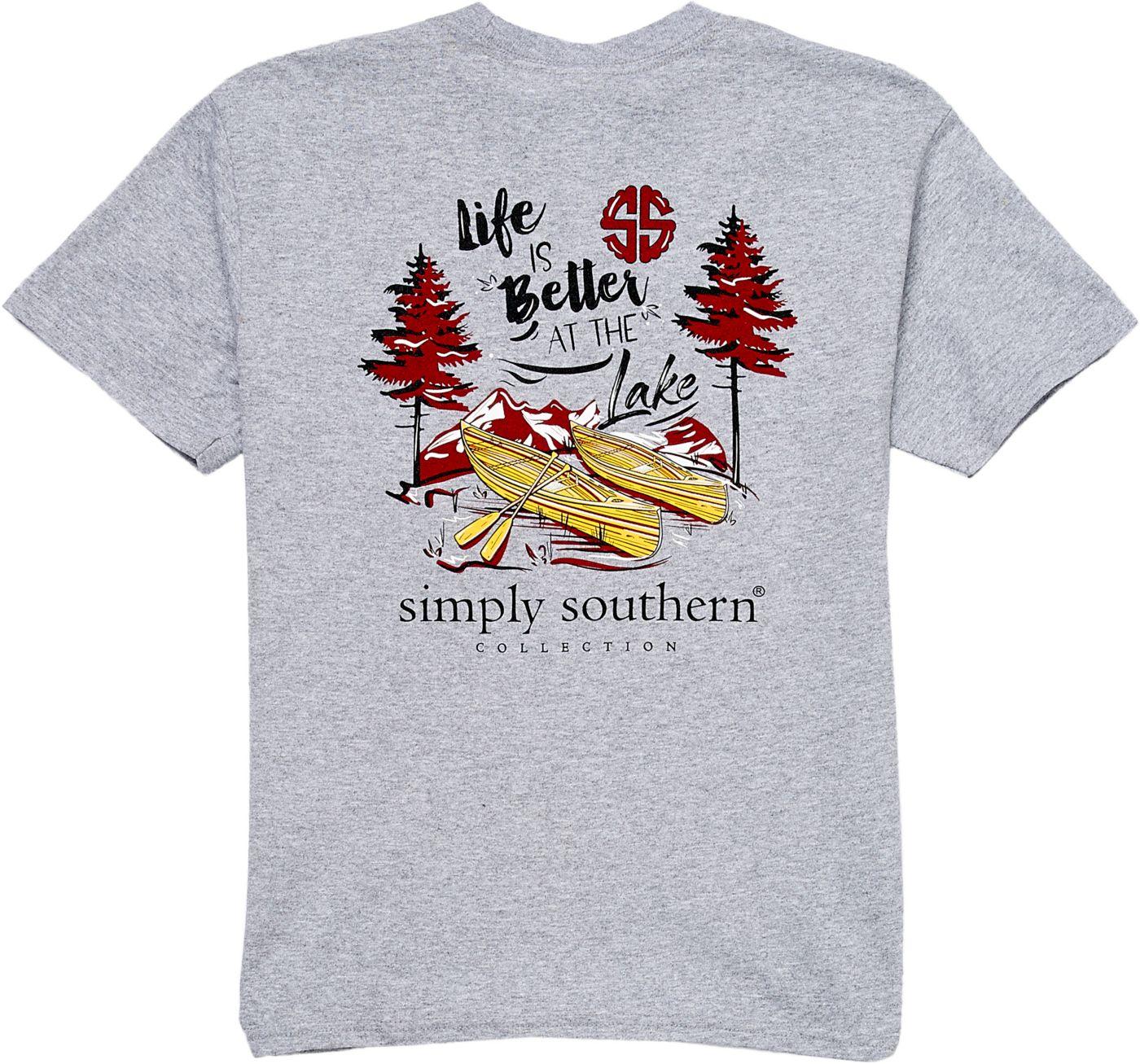 Simply Southern Girls' Lake Short Sleeve T-Shirt