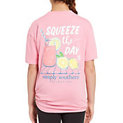 Simply Southern Girls' Short Sleeve Squeeze T-Shirt