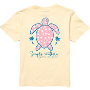 Simply Southern Girls' Short Sleeve Save USA T-Shirt