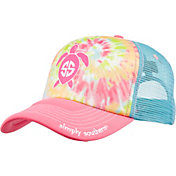 Simply Southern Women's Embroidery Save Logo Trucker Hat