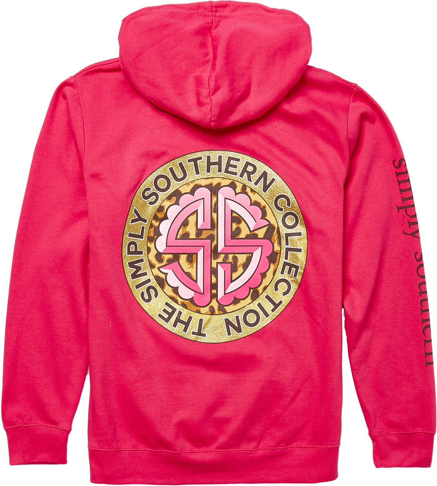 Simply Southern Women's Leopard Hoodie