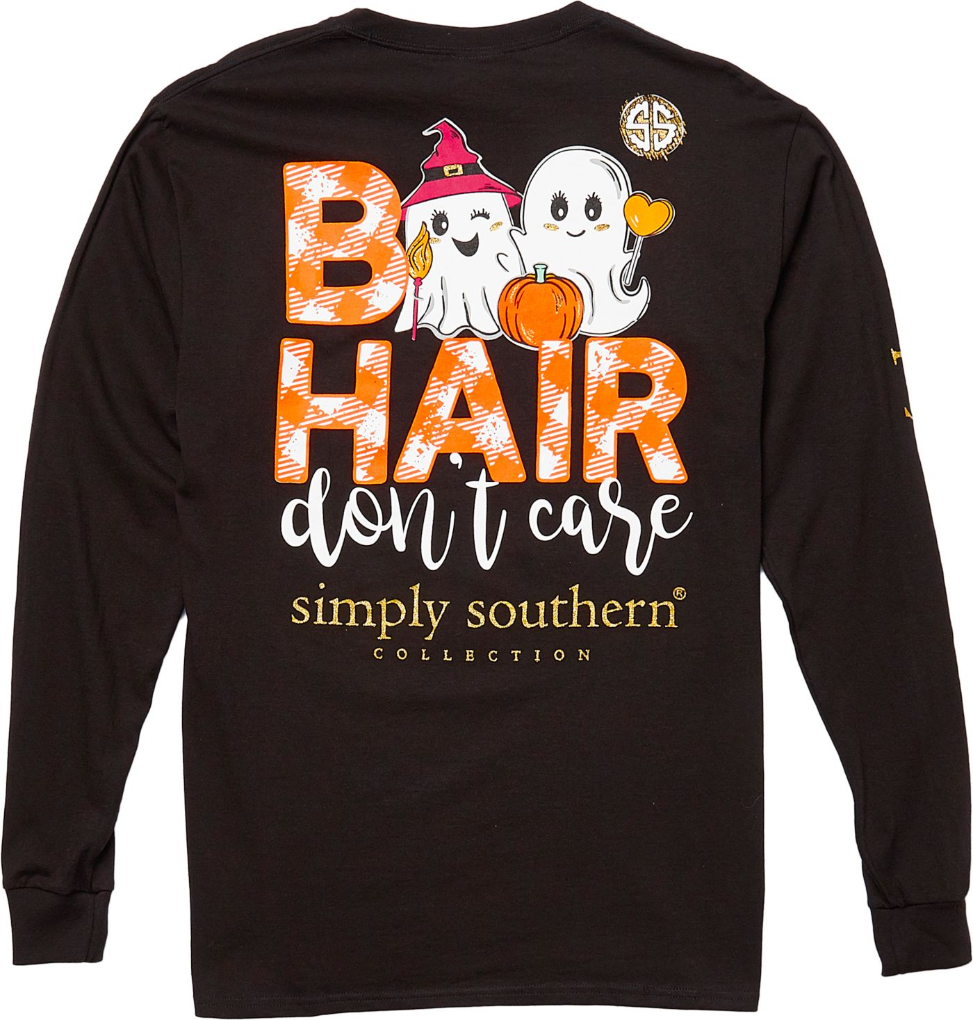 Simply Southern Women's Boo Long Sleeve T-Shirt