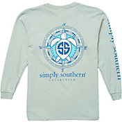 Simply Southern Women's Compass Long Sleeve T-Shirt