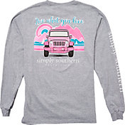 Simply Southern Women's Mountain Long Sleeve T-Shirt