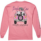 Simply Southern Women's Panda Long Sleeve T-Shirt