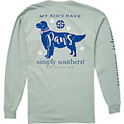 Simply Southern Women's Paws Long Sleeve T-Shirt