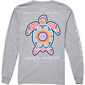 Simply Southern Women's Turtle Mandala Long Sleeve T-Shirt