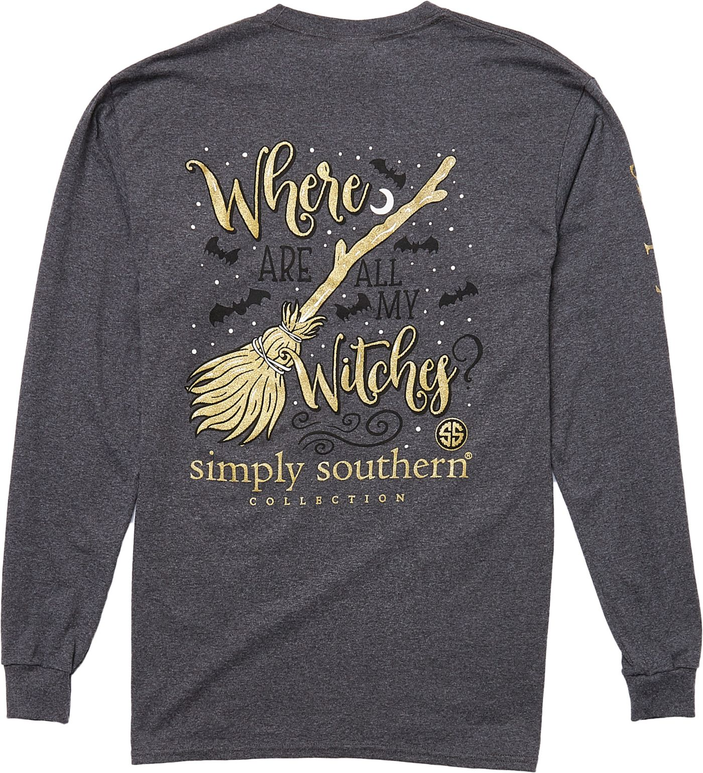 Simply Southern Women's Witches Long Sleeve T-Shirt