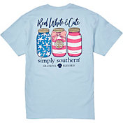 Simply Southern Women's Jars Short Sleeve T-Shirt