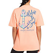 Simply Southern Women's Short Sleeve Anchor T-Shirt
