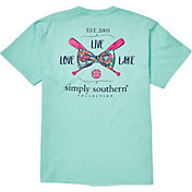 Simply Southern Women's Paddle Pocket Short Sleeve T-Shirt