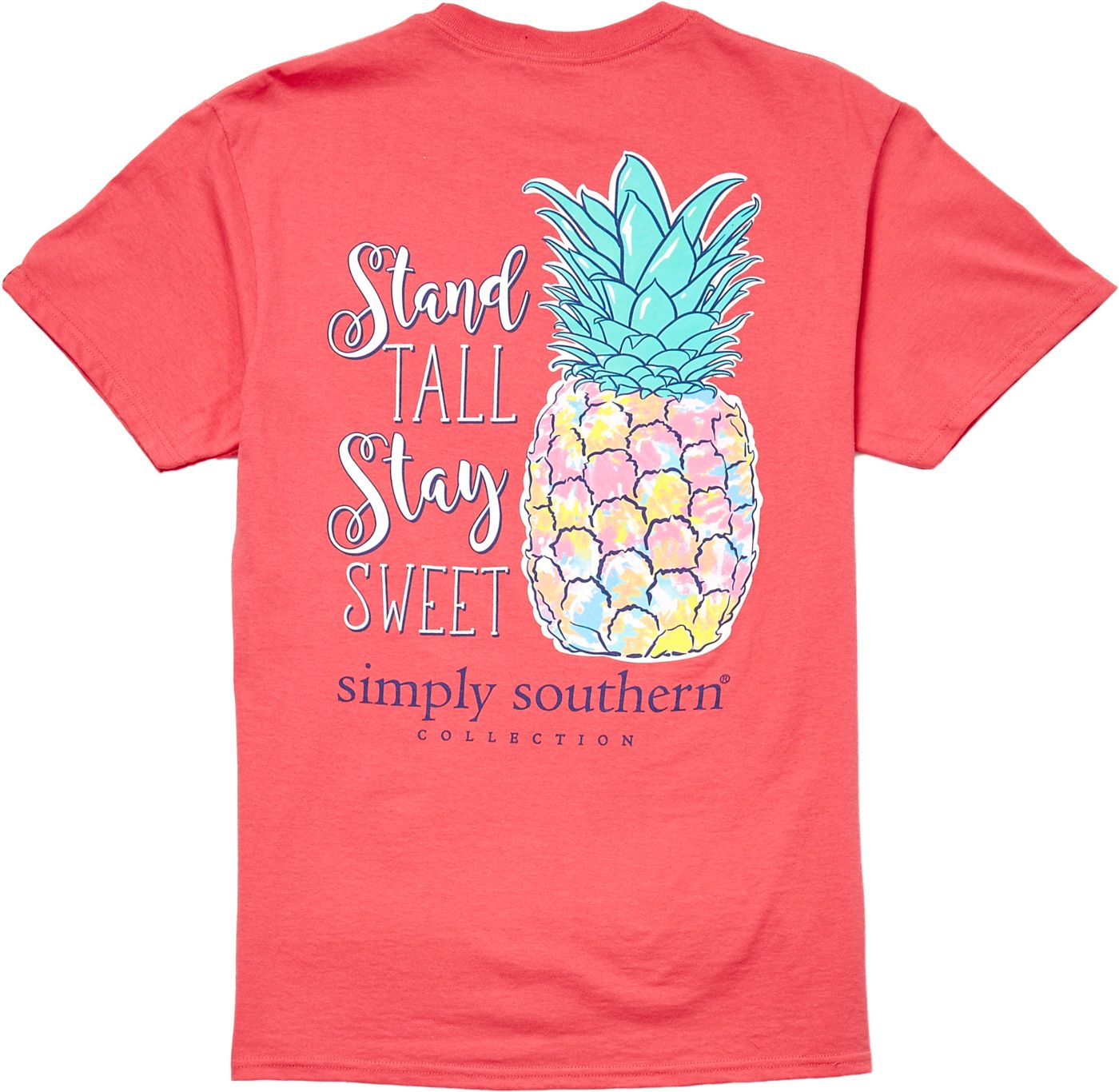 Simply Southern Women's Short Sleeve Pineapple T-Shirt