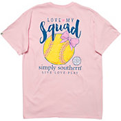 Simply Southern Women's Softball Short Sleeve T-Shirt