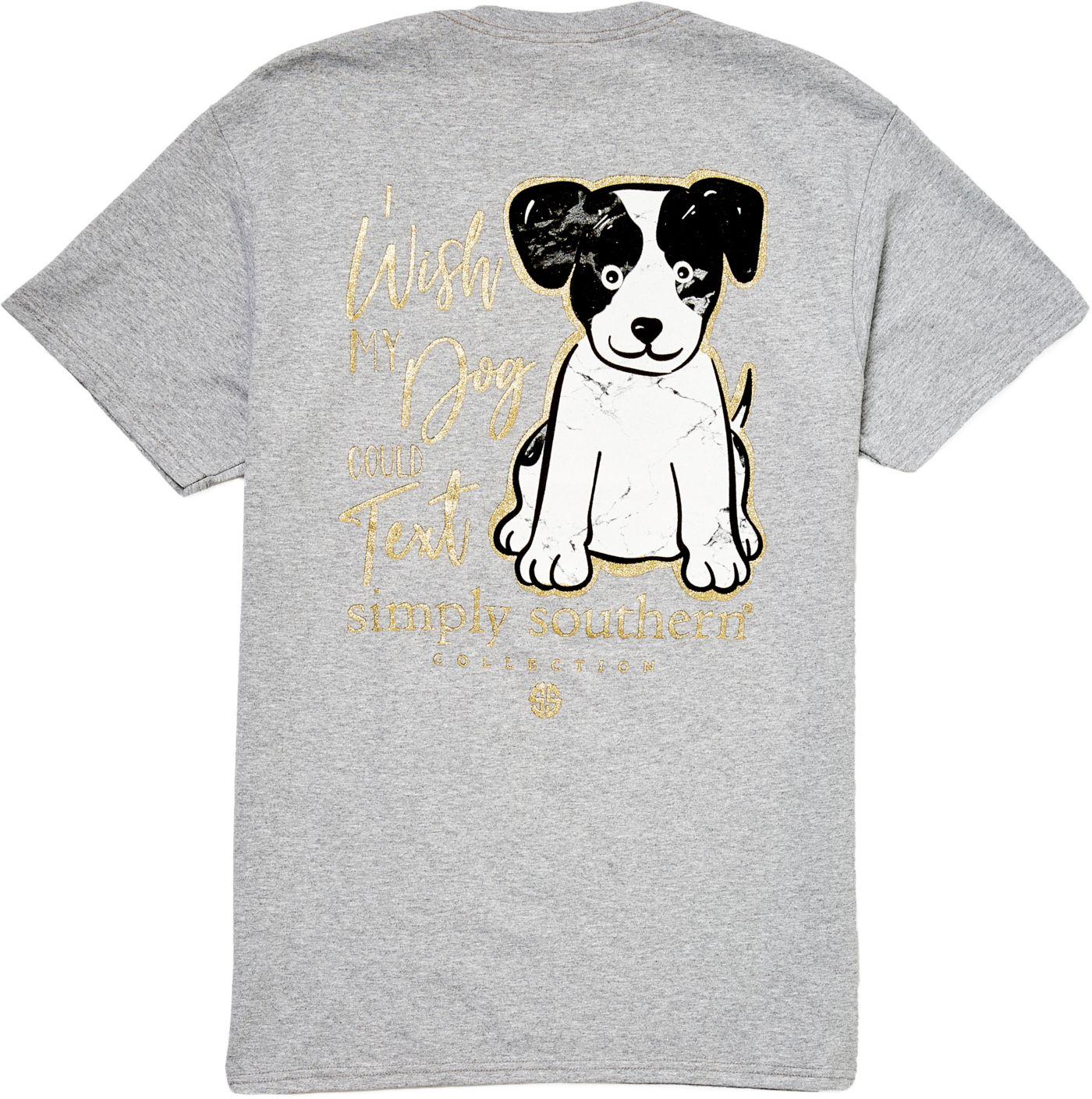 Simply Southern Women's Short Sleeve Text T-Shirt
